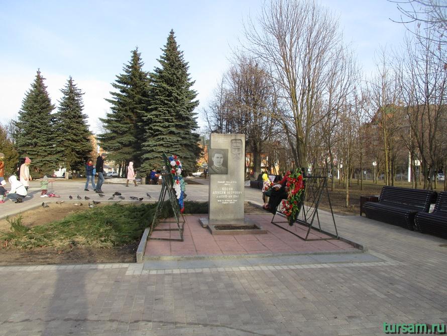 Площадь Революции в Истре-2