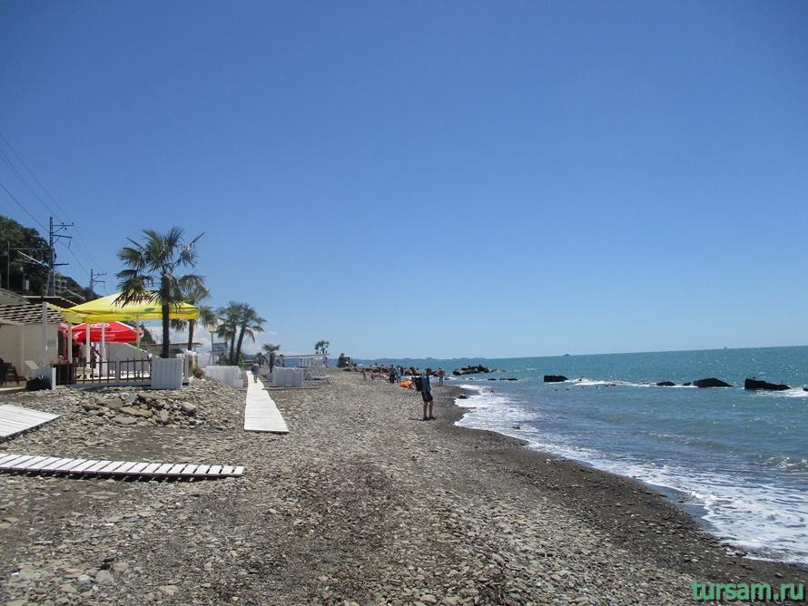 Пляж Мацеста-1
