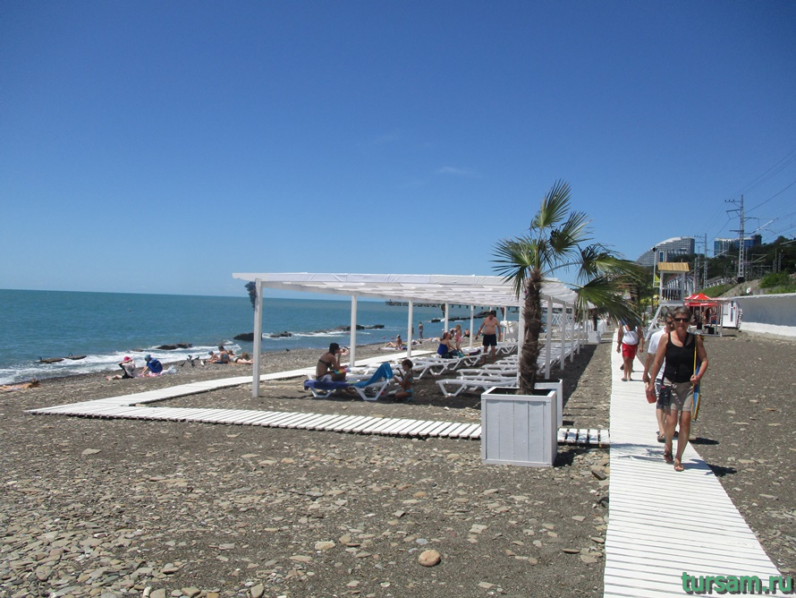 Пляж Мацеста-4