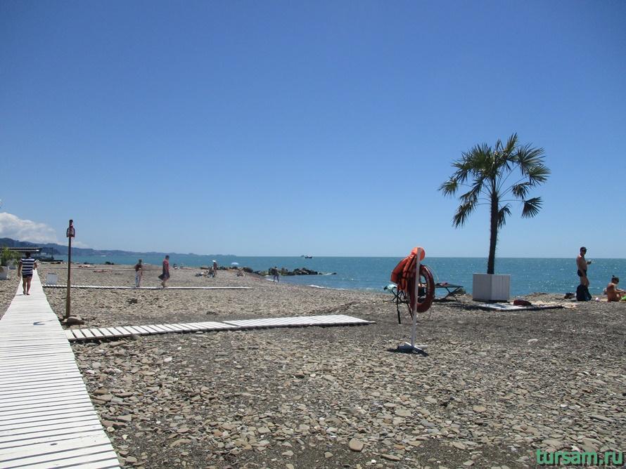 Пляж Мацеста-5