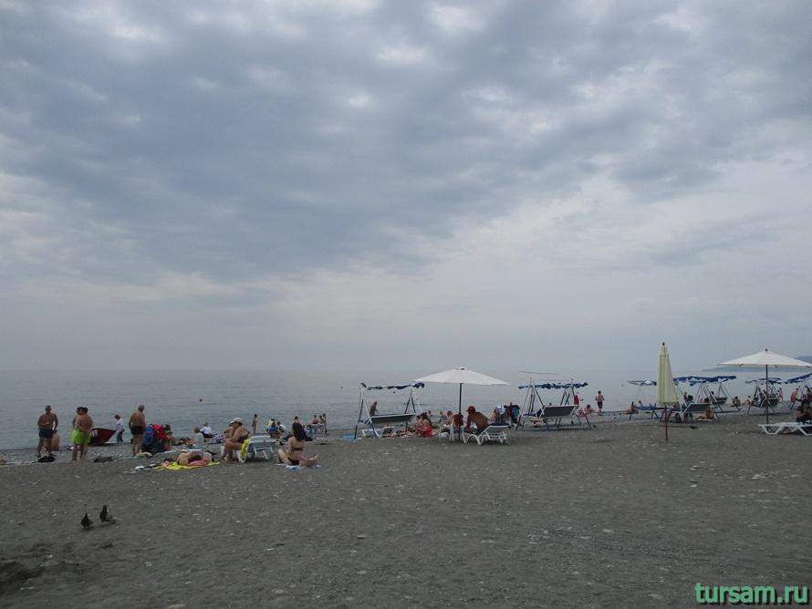 Пляж Ривьера в Сочи-2