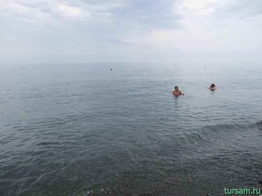 Пляж Ривьера в Сочи-3