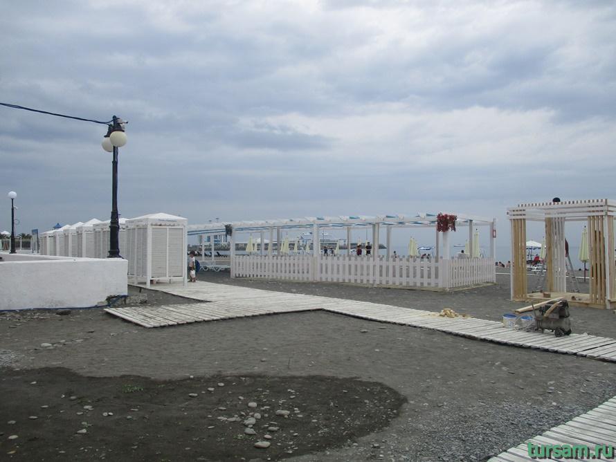 Пляж Ривьера в Сочи-6