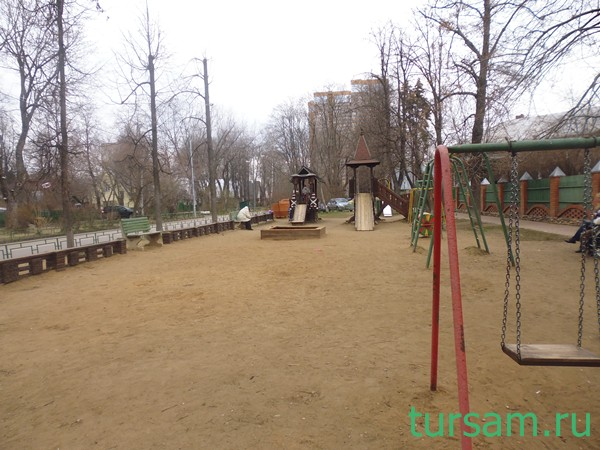 Поселок Сокол детская площадка
