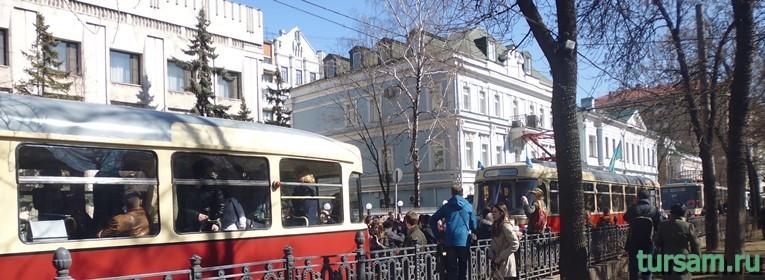 Праздник московского трамвая