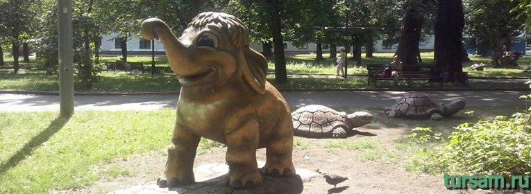 Пресненский детский парк в Москве
