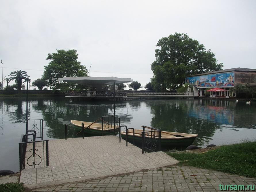 Приморский парк в Новом Афоне в Абхазии-4