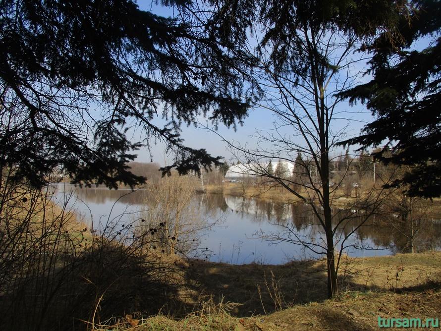 Река Любосеевка во Фрязино-1