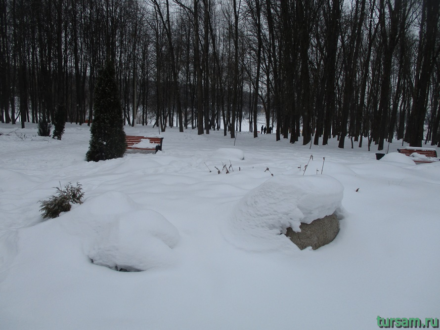 Сад камней в парке Белоусова-1