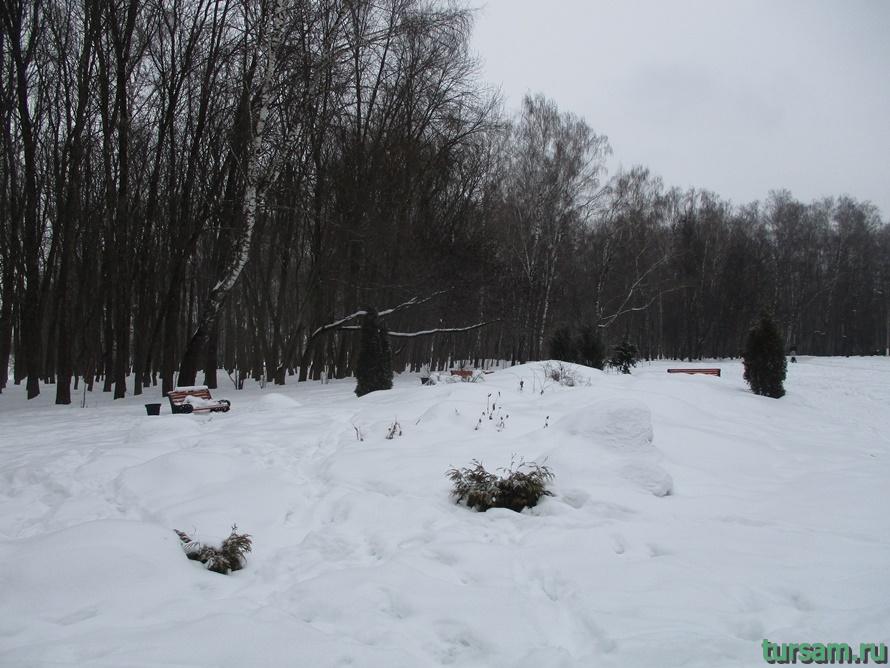 Сад камней в парке Белоусова-3