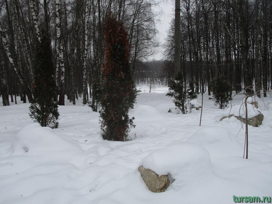 Сад камней в парке Белоусова-4