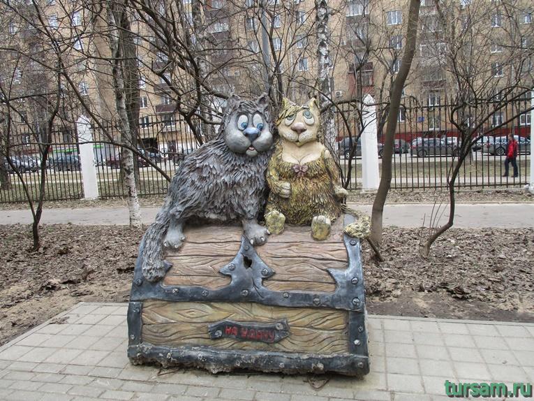 Скульптура в парке имени Воровского-5