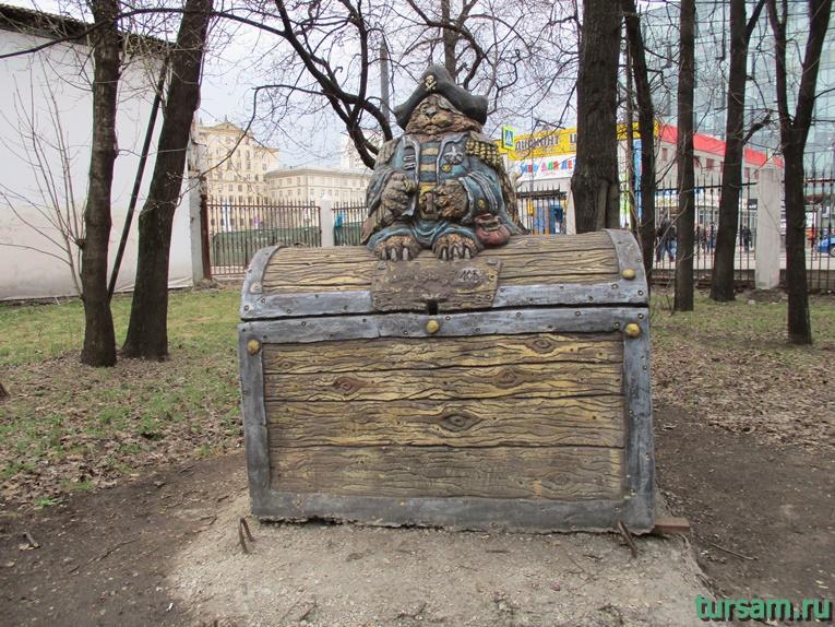 Скульптура в парке имени Воровского