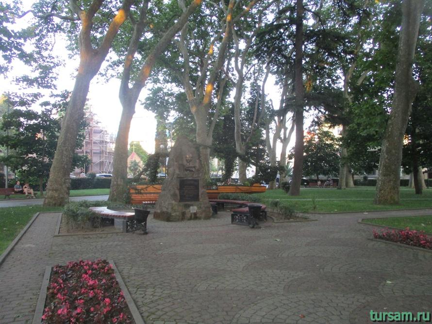 Сквер Бестужева в Адлере-5