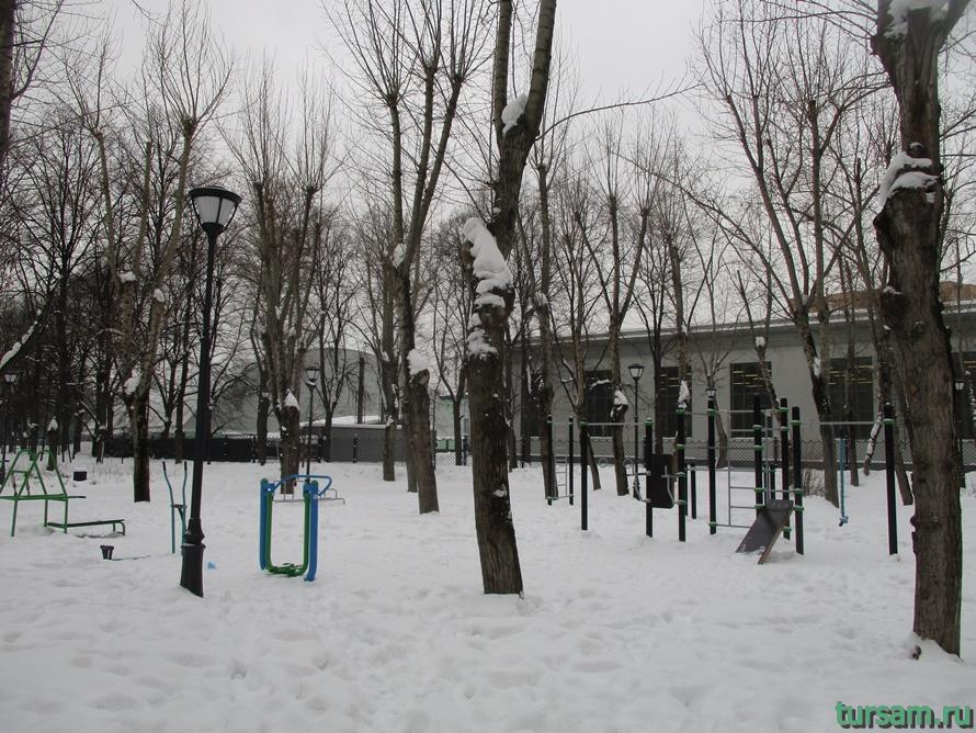 Сквер Девичьего поля-11