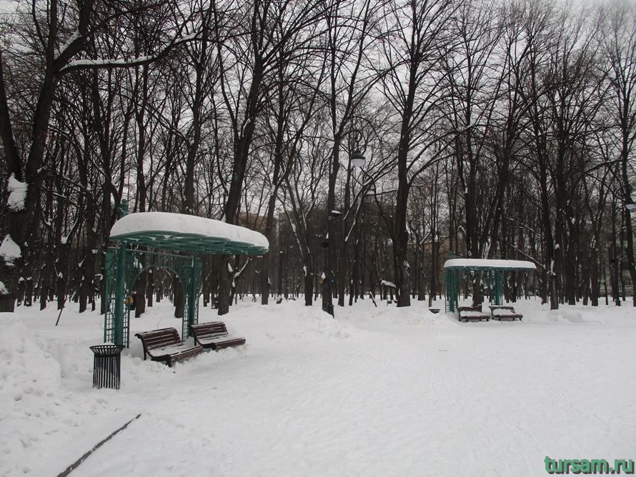 Сквер Девичьего поля-12