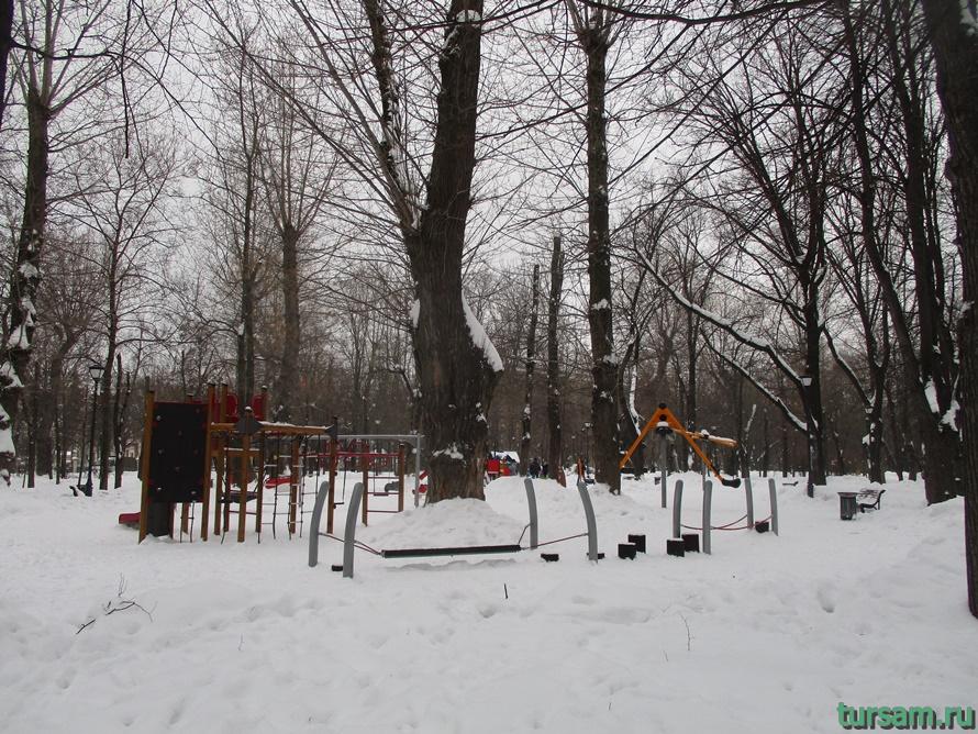 Сквер Девичьего поля-14