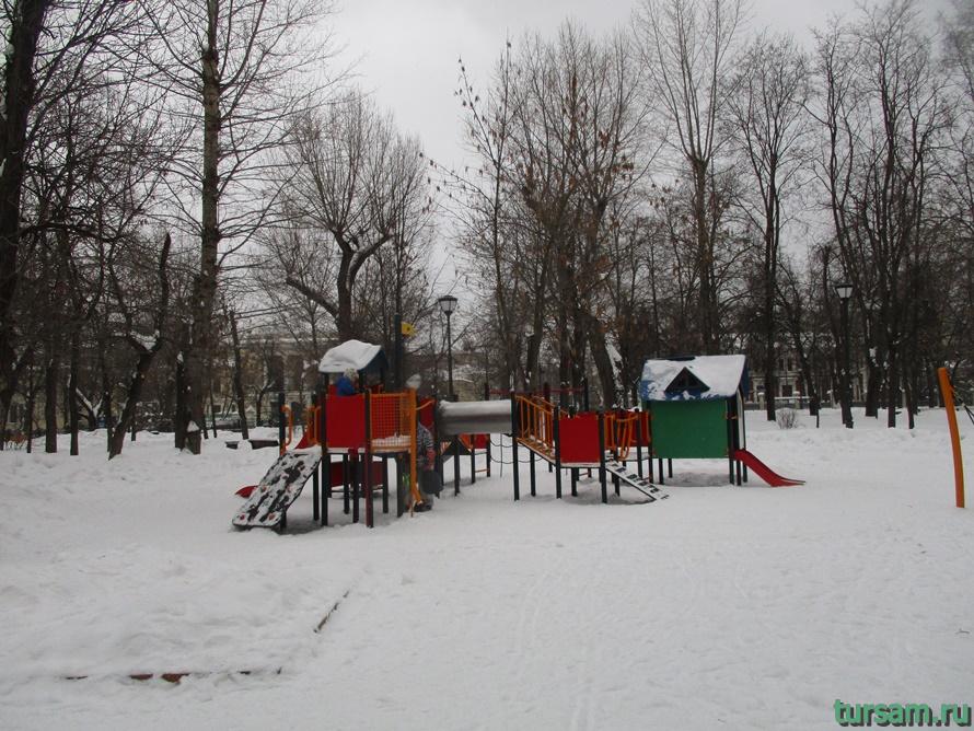 Сквер Девичьего поля-15