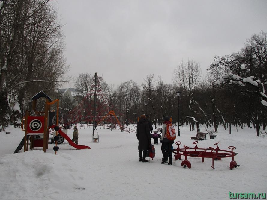 Сквер Девичьего поля-4