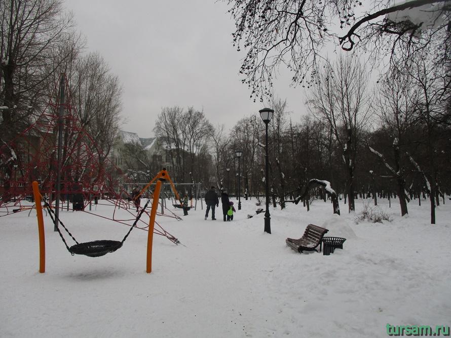 Сквер Девичьего поля-6