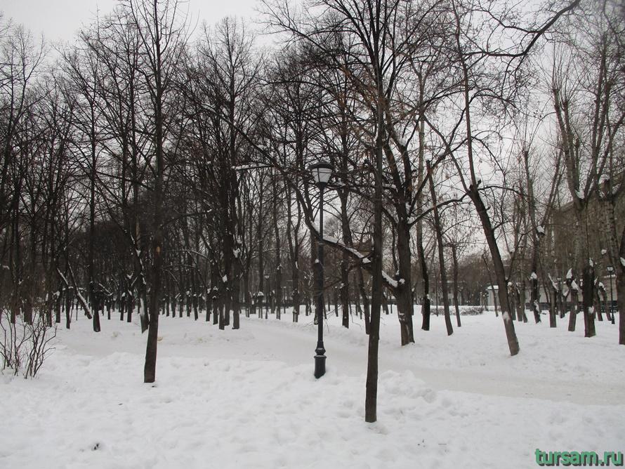 Сквер Девичьего поля-7