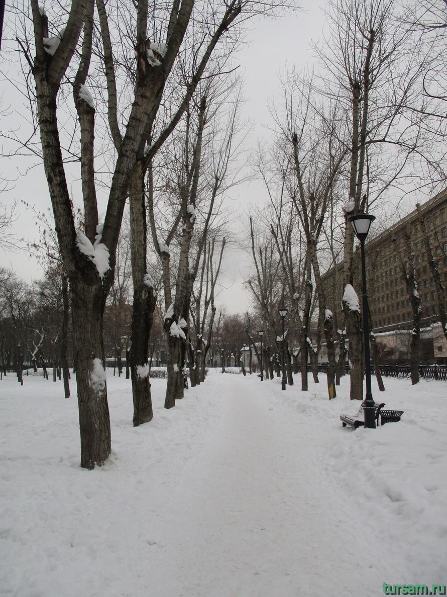 Сквер Девичьего поля-8