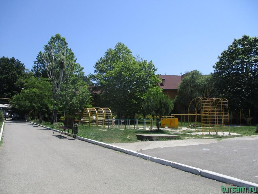 Сквер Учителей в Кудепсте-10