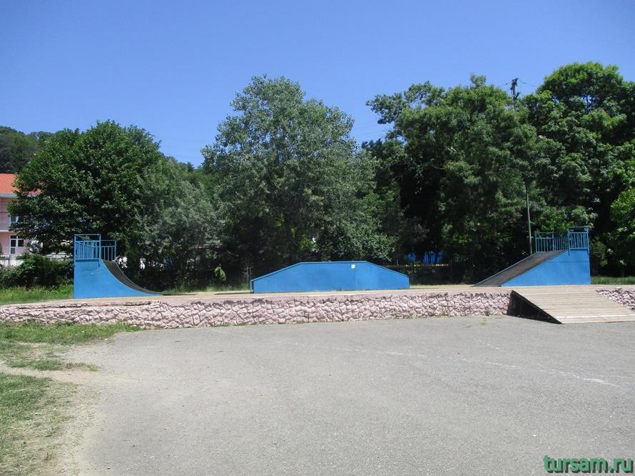 Сквер Учителей в Кудепсте-5