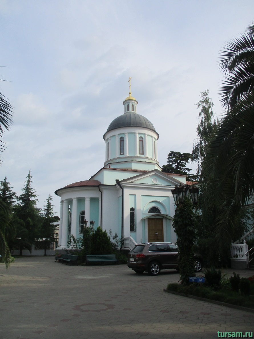 Собор Архангела Михаила в Сочи-1