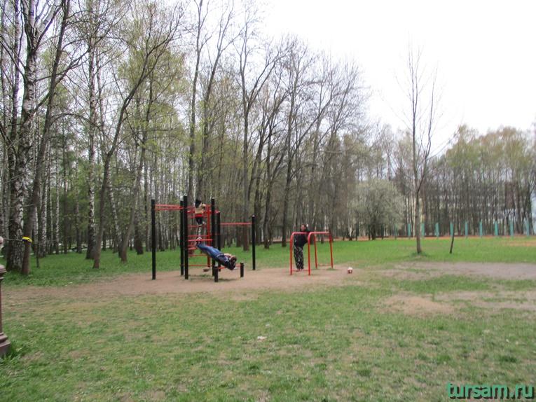 Спортивный комплекс в парке имени Челюскинцев