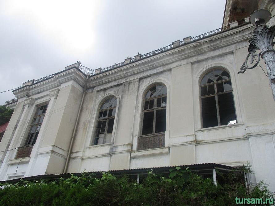 Станция Новый Афон в Абхазии-8