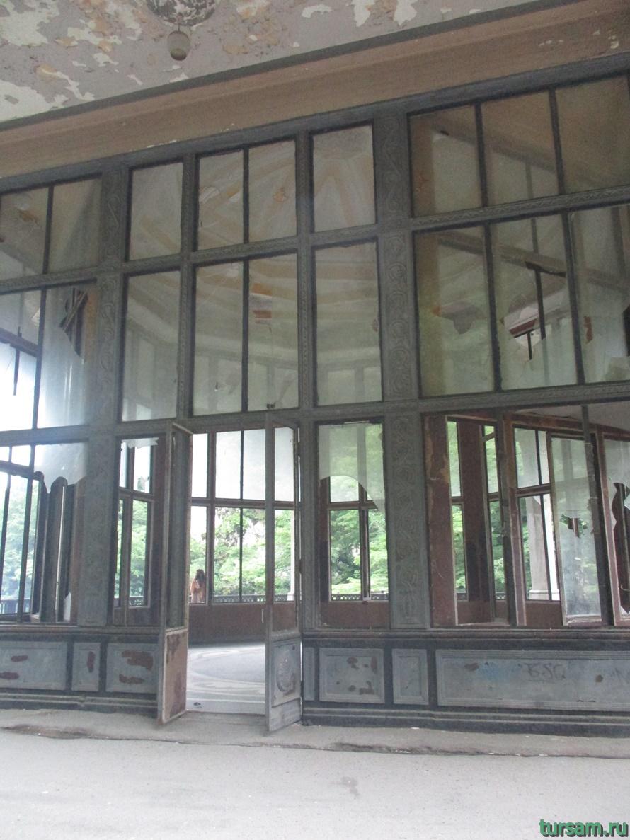 Станция Псырцха в Абхазии-3