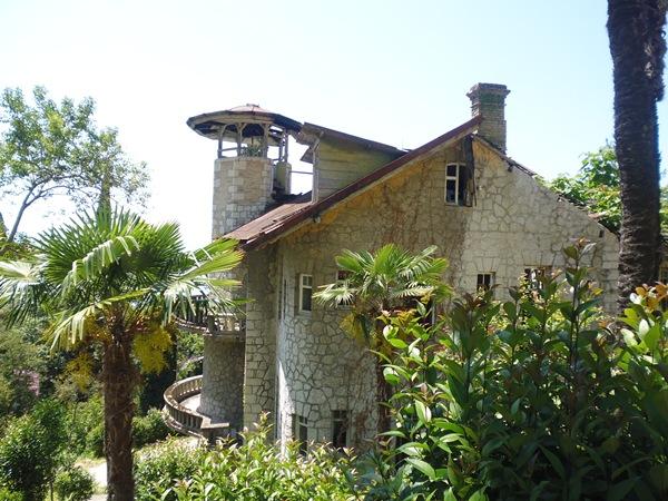 Старые Гагры замок 1