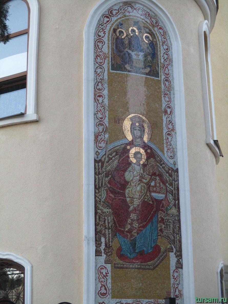 Свято-Троицкий храм в Адлере-2
