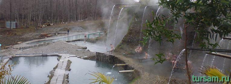 Термальные источники в селе Кындыг
