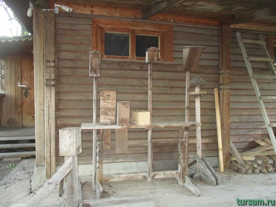 Усадьба пасечника в Коломенском-1
