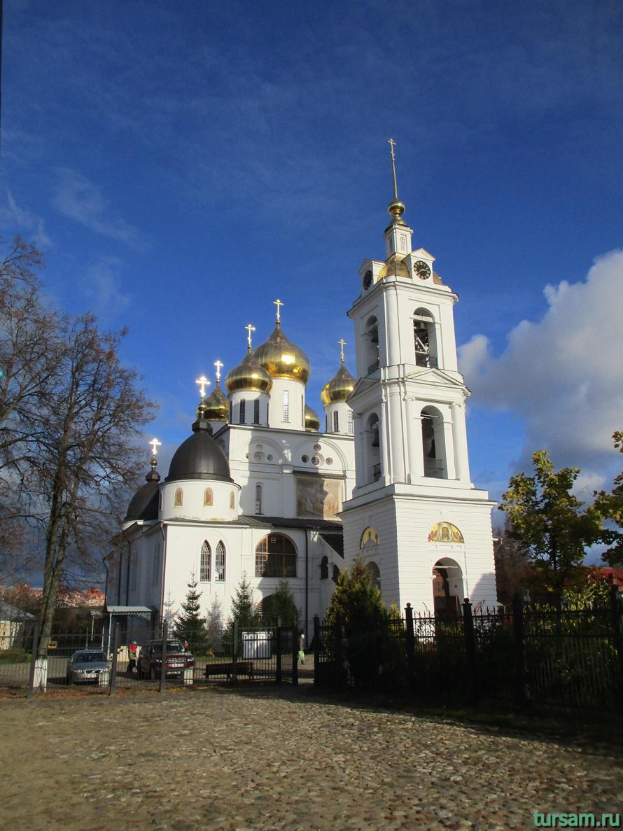 Успенский Кафедральный Собор в городе Дмитров-1