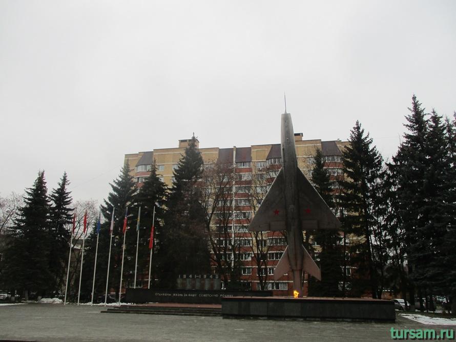 Вечный огонь в Щелково-1
