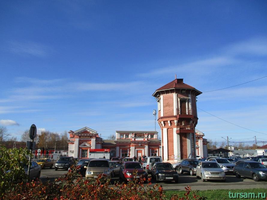 Водонапорная башня в Дмитрове-3