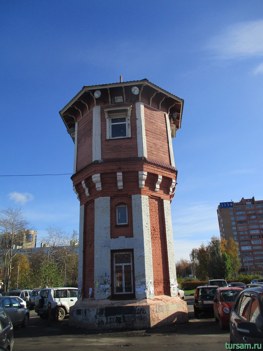 Водонапорная башня в Дмитрове
