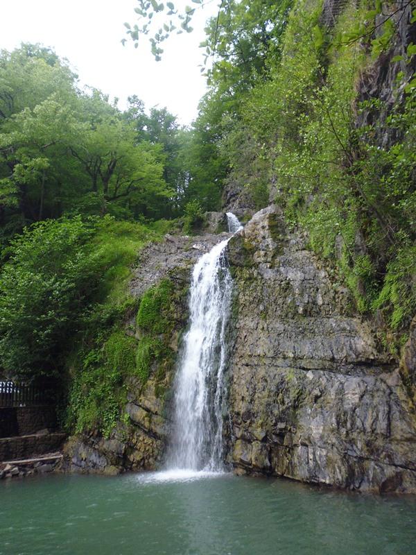 Водопад №1 змейковские водопады