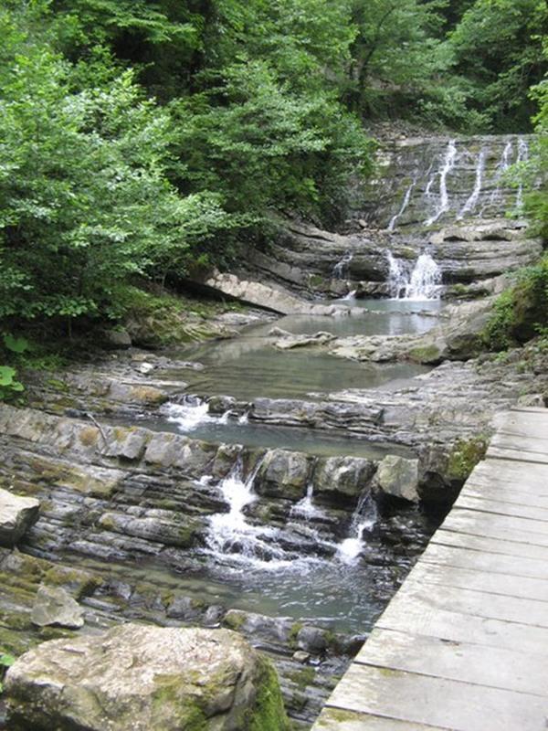 Водопад №3 змейковские водопады