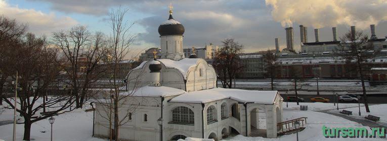 Церковь Зачатия святой Анны в Москве