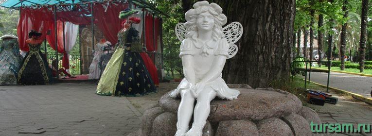 Достопримечательности парка Ривьера в Сочи