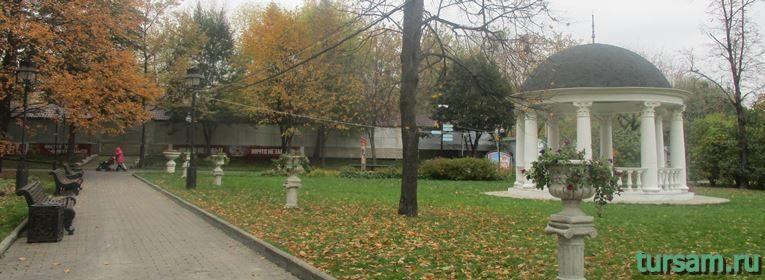 Екатерининский парк в Москве