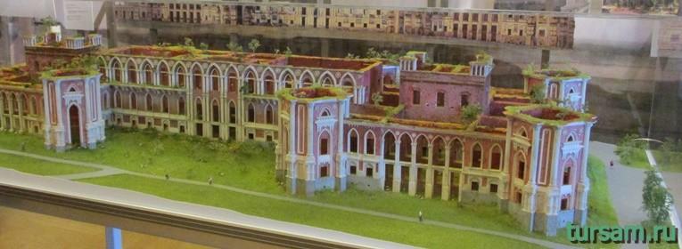 Экспозиция Большого Царицынского дворца