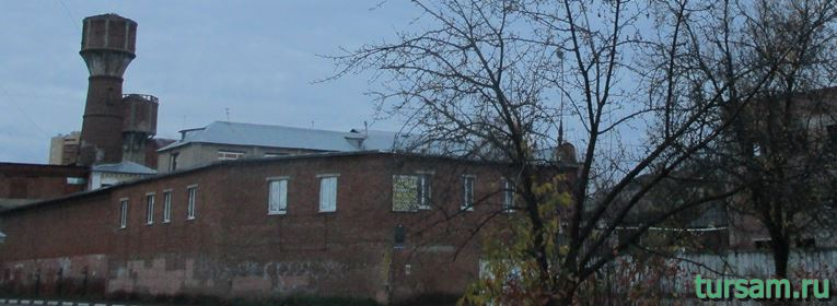Фабрика Лыжина в Ивантеевке