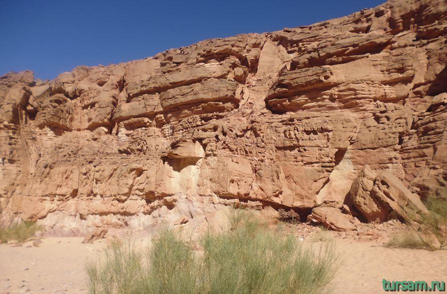 Фото цветного каньона в Египте-6