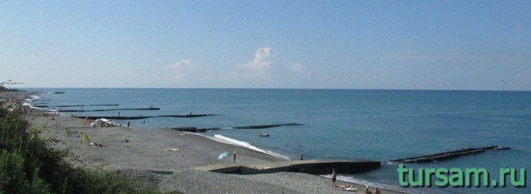 Пляж поселка Головинка-2