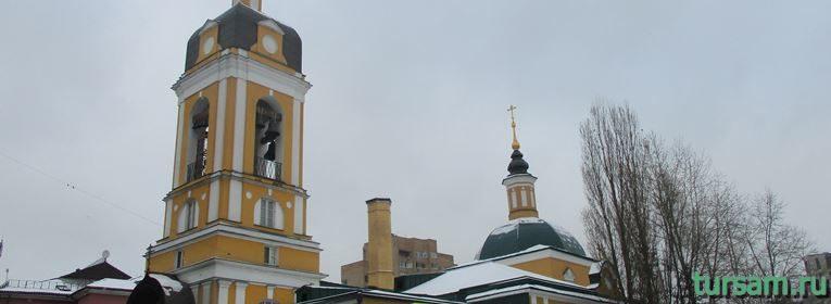 Храм Сорока Мучеников Севастийских в Москве